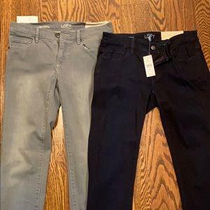 NWT Loft skinny jeans